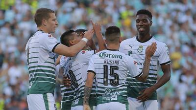 En fotos: Santos paseó al América en la Comarca y puso un pie en la gran final de la Liga MX