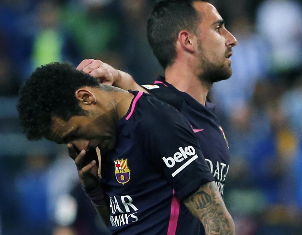 Barcelona perdió contra Málaga y se le escapó la opción de ser líder en...