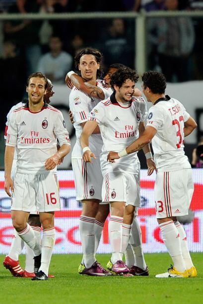 El importante triunfo del Milan sirvió para seguir adelante del Nápoles...