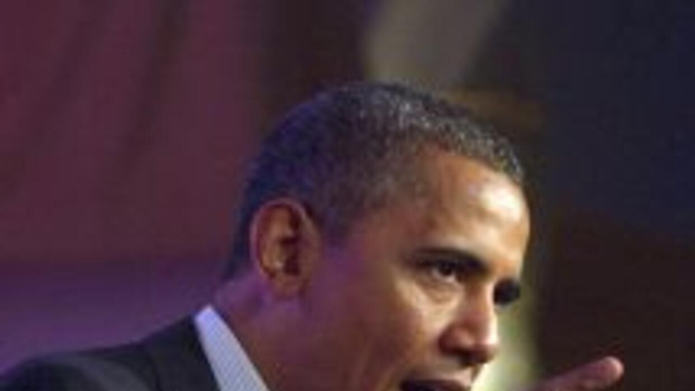El presidente Barack Obama afirmó que la muerte de Osama Bin Laden un añ...
