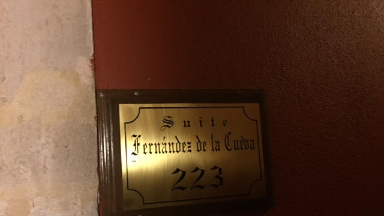 La suite 223, Fernández de la Cueva.