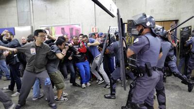 Huelgas paralizan ciudad de apertura del Mundial