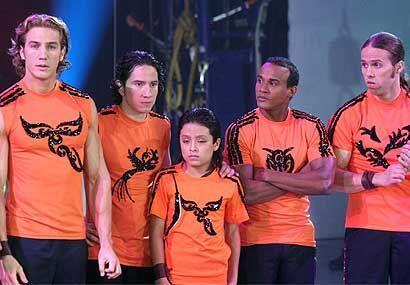 Los del equipo Anaranjado se sorprendieron por el vuelo del Águila.