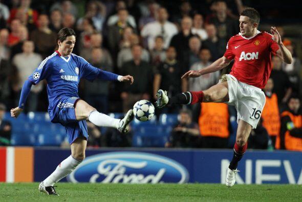 El español Fernando Torres mantuvo su racha sin poder anotar desde que l...