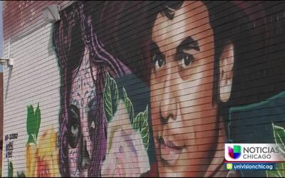 Juan Gabriel engalana un mural en Chicago