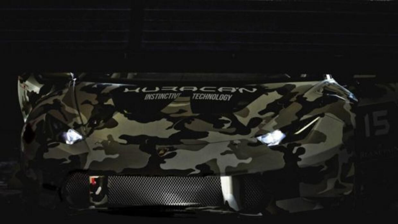 La versión de carreras del nuevo Huracán estará en las pistas el próximo...