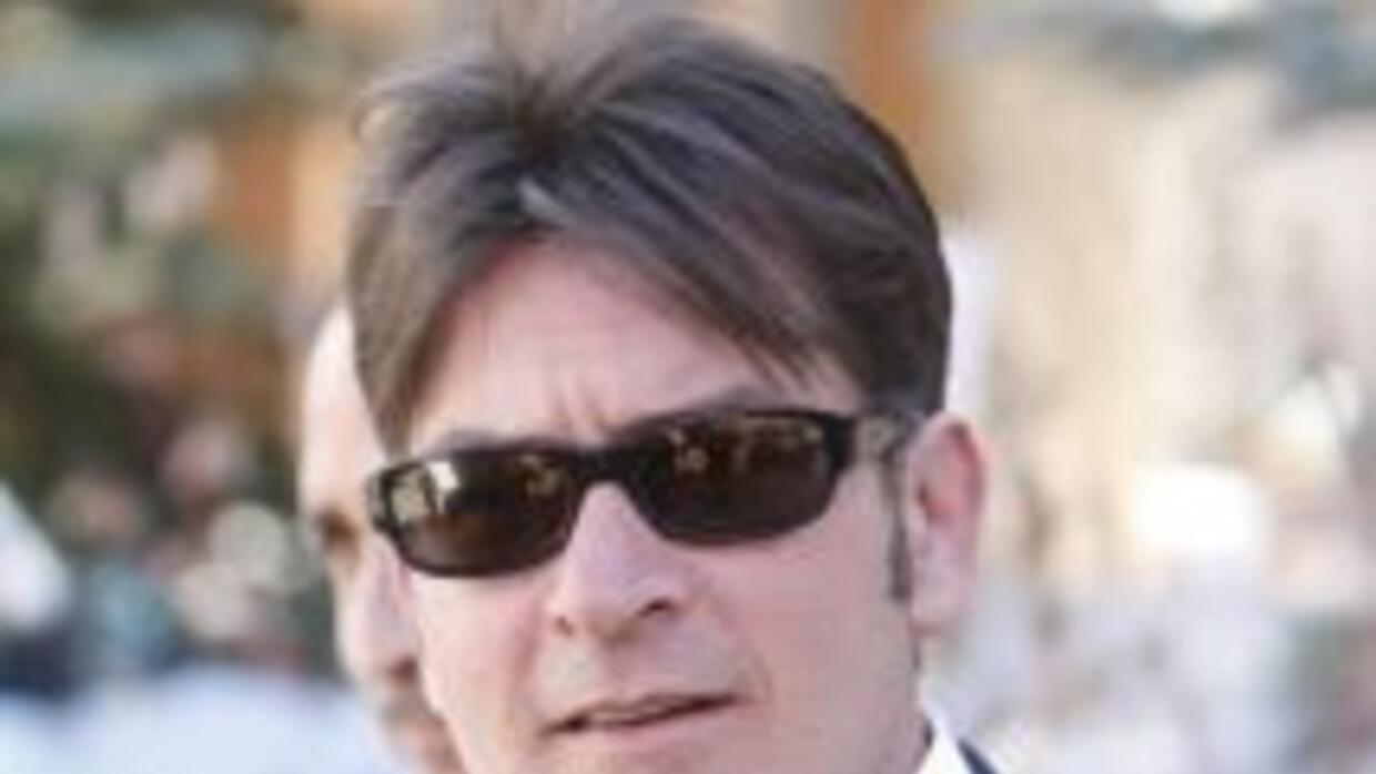 El polémico actor Charlie Sheen.