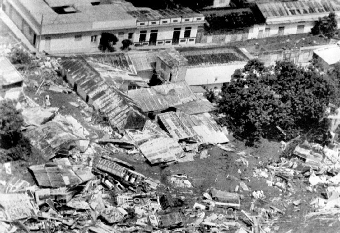 La tragedia de Armero dejó $559 millones de dólares en pérdidas económicas.