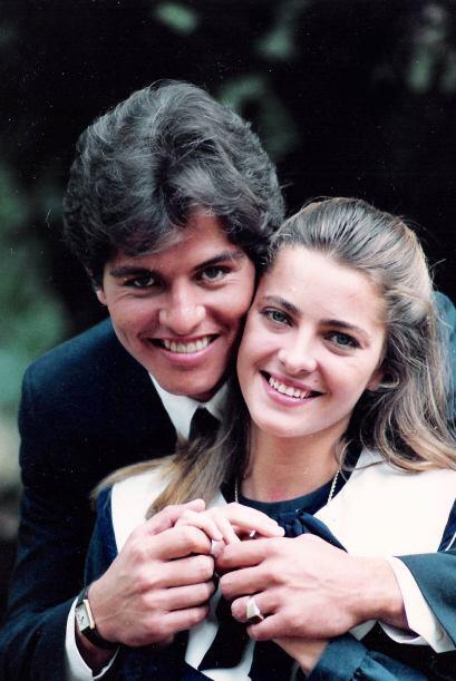 """En 1990 protagonizó """"Cenizas y diamantes"""", con Lola Merino, a quien ahor..."""
