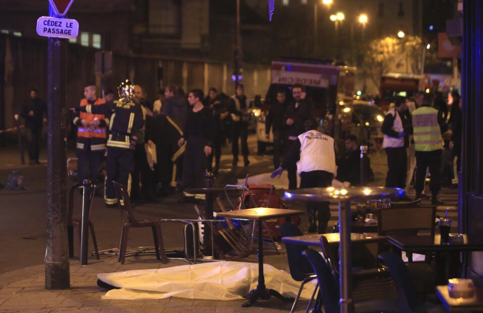 Imágenes de terror en París
