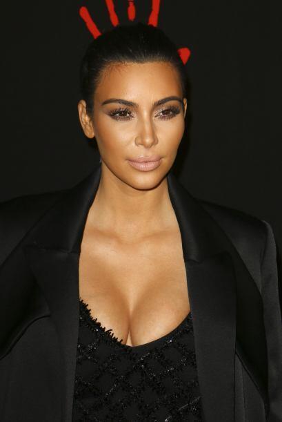 Quien también estuvo fue Kim Kardashian.
