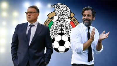 La FMF descartó a Quique Sánchez Flores y sigue firme detrás de Martino como DT del Tri