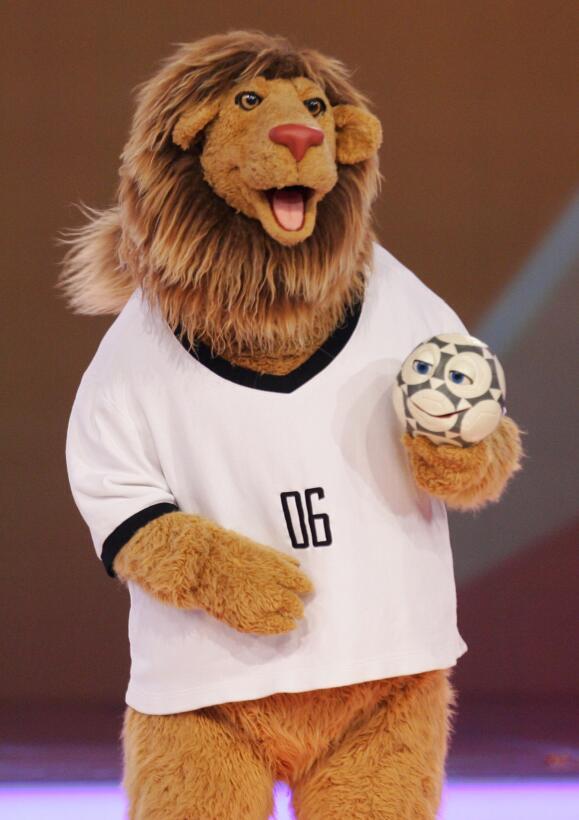 Mascotas de los Mundiales de fútbol en los últimos 30 años GettyImages-9...