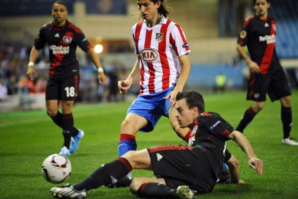 El conjunto 'colchonero' recibió al Bayer Leverkusen con la intensión de...
