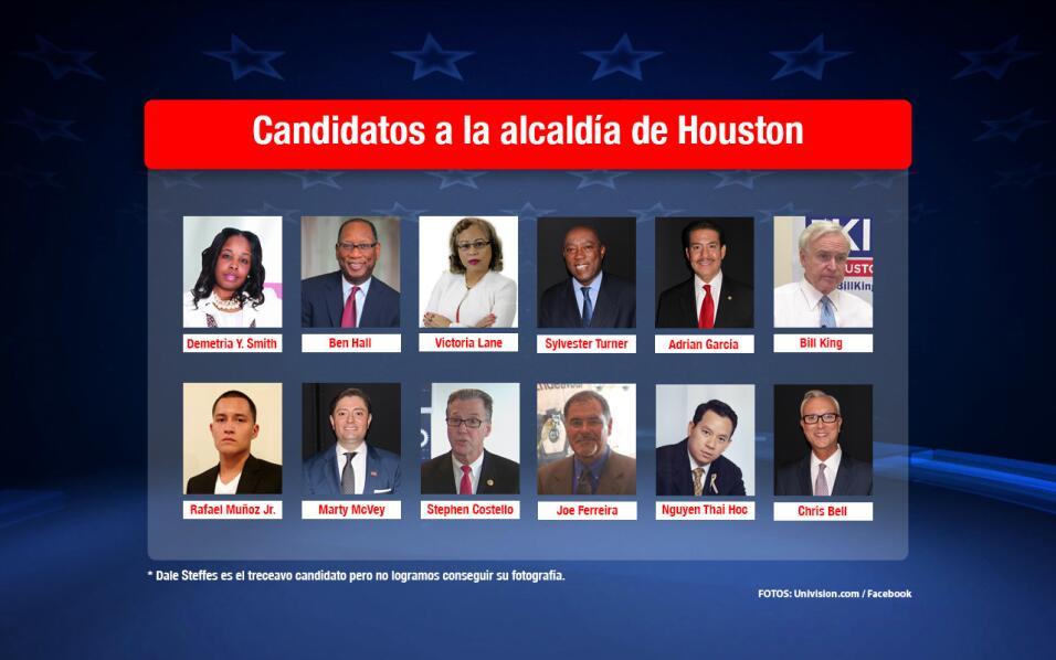 Candidatos a la alcaldía de Houston