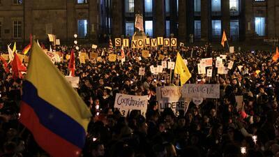 Rechazo nacional e internacional por el asesinato de líderes sociales en Colombia