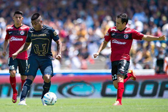 El cuadro de Pumas mostró más orden con la llegada de Vázquez al banquil...