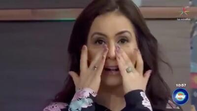 Entre lagrimas, Claudia Lizaldi pide respeto tras publicación que dice que su esposo le es infiel