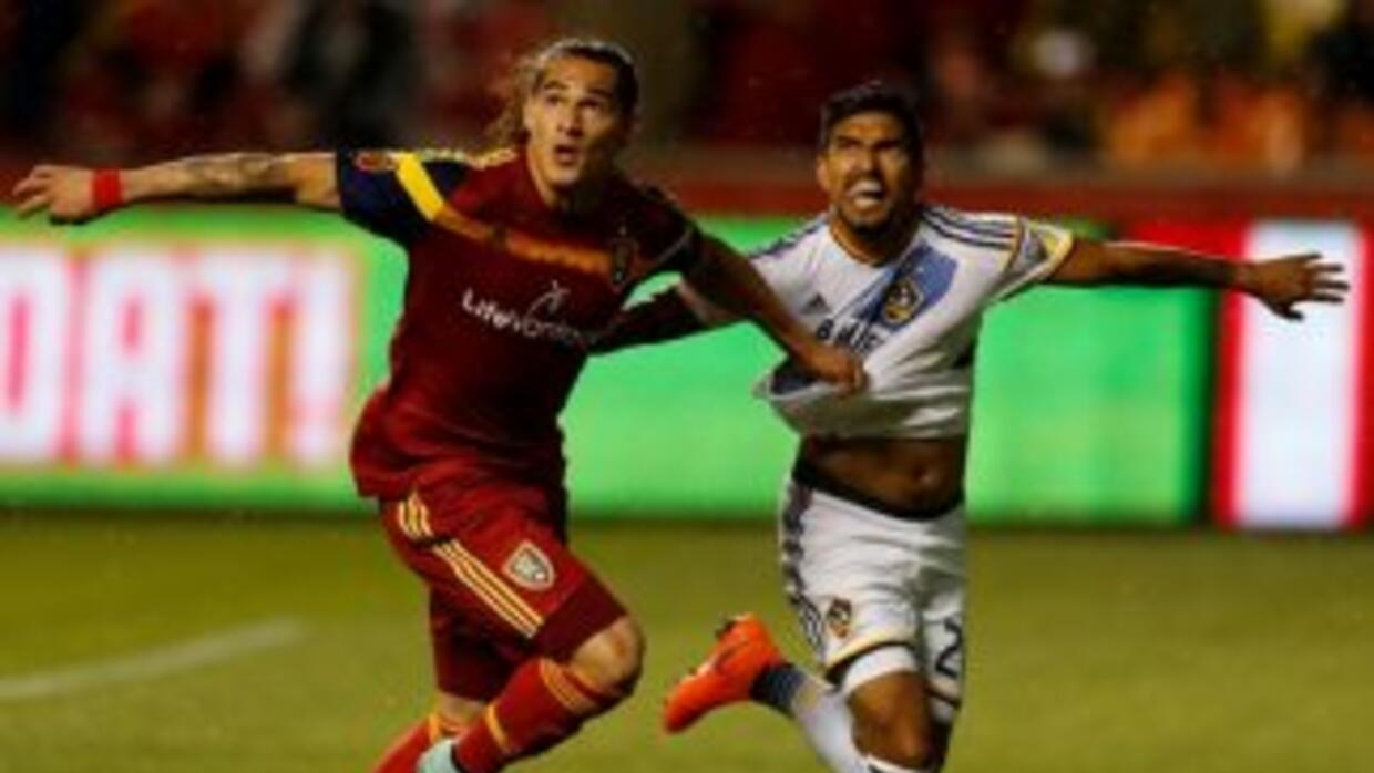 Devon Sandoval, Real Salt Lake y AJ De la Garza, LA Galaxy