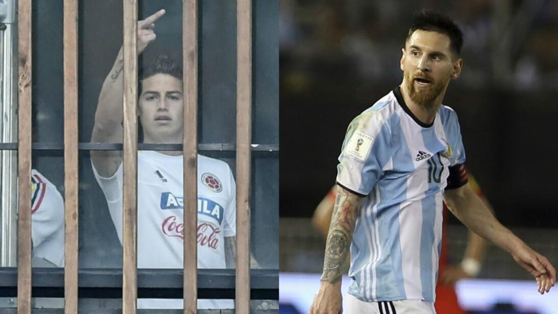 De Messi hasta James, polémicas de ídolos del fútbol latinoamericano Pri...