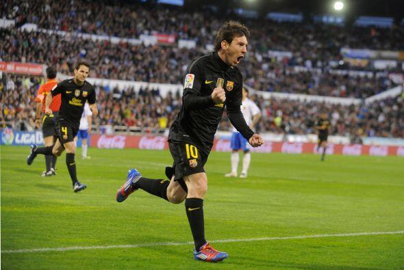 Messi se convirtió en el nuevo goleador del Torneo. Tiene un tant...