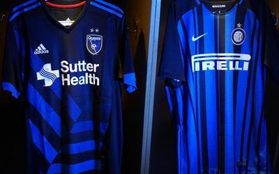 San Jose Earthquakes se asocia con el Inter de Milán