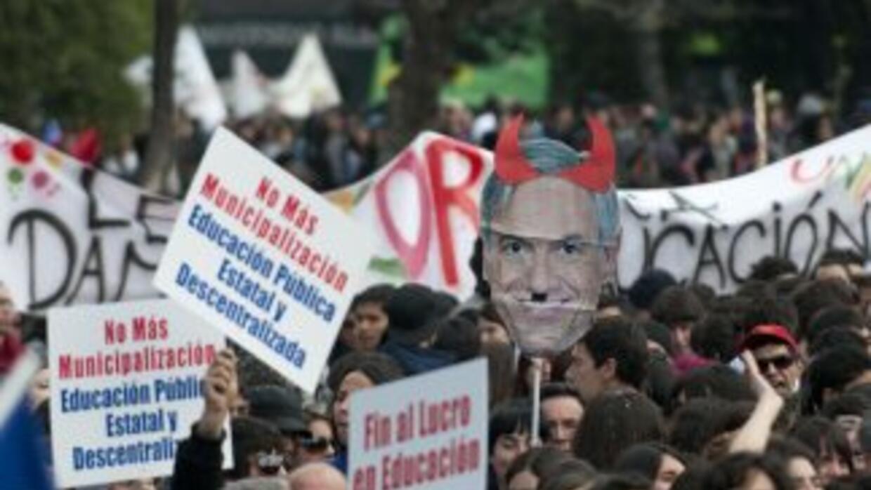 El movimiento estudiantil esperaba el llamado del ministro de Educación,...