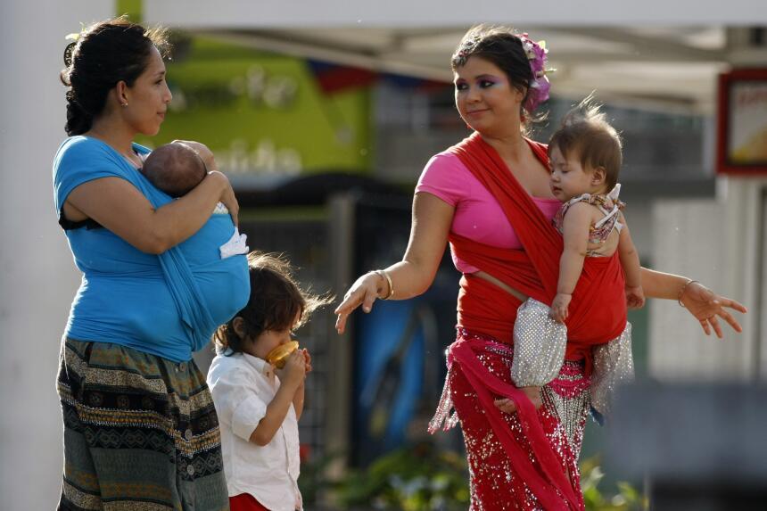 Varias ciudades colombianas se sumaron a la 'tetada colectiva'.