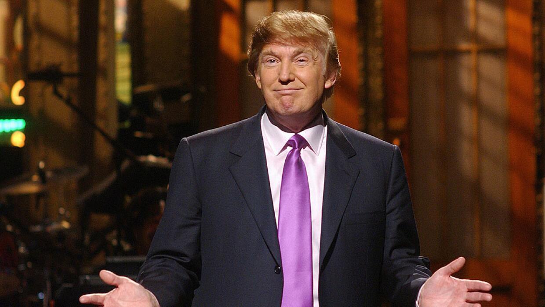 Donald Trump en Saturday Night Live.