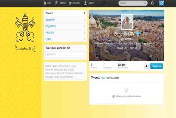 El 12 de diciembre de 2012, lanzó su primer tuit en la red Twitte...