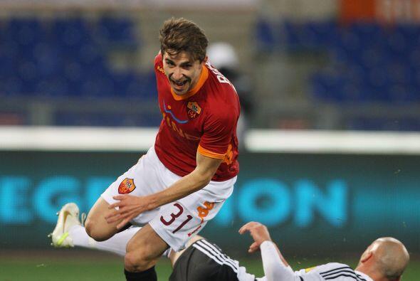 El equipo que dirige el español Luis Enrique, la Roma, destrozó al Cesen...