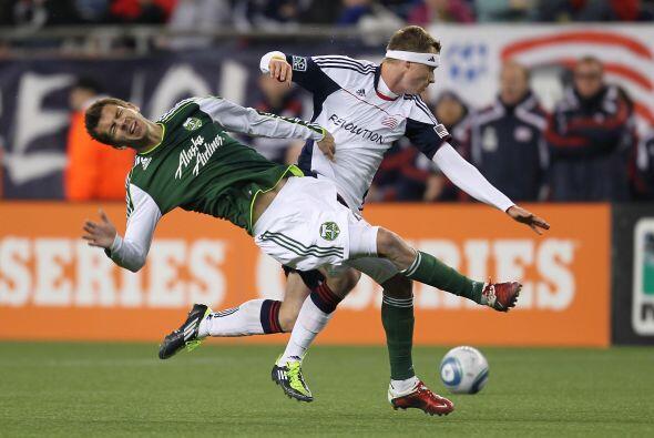 Portland Timbers rescató un importante empate como visitante ante New En...