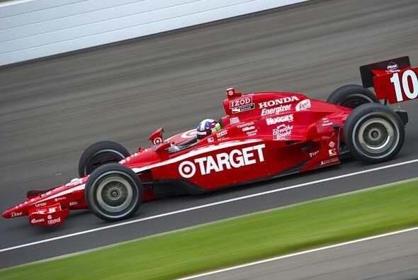 Franchitti logró la 3ra. posición gracias a un promedio de velocidad de...