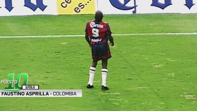 Los 10 mejores | Faustino Asprilla, una figura en el plano internacional que no pudo en el fútbol mexicano