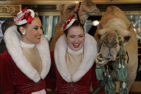 Radio City Christmas Spectacular llegó a Nueva York con sus peculiares p...