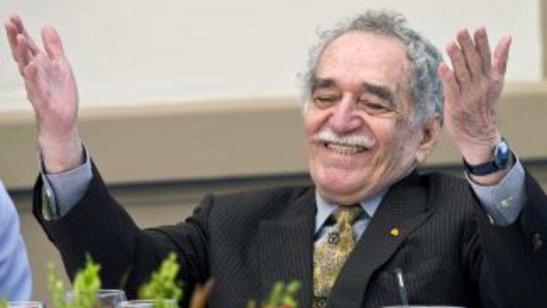 El escritor Gabriel García Márquez.