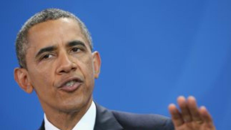 El presidente de Estados Unidos, Barack Obama, se reúne el lunes con emp...