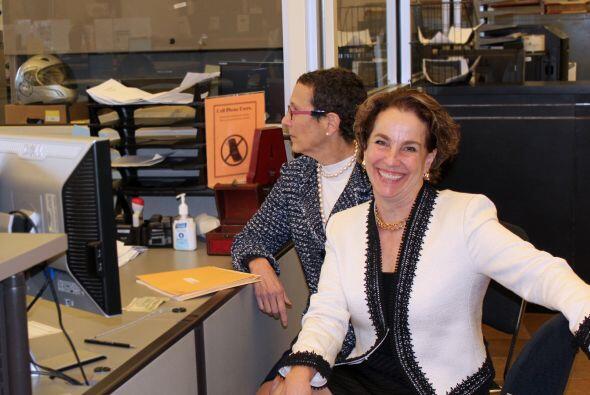 Sarah Goodfriend y Suzanne Bryant se convirtieron este jueves en la prim...