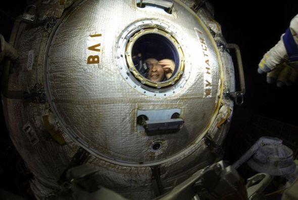 La nave Soyuz TMA-09M despegó de Baikonur a las 19:57 GMT el 28 d...