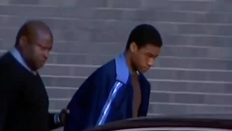 Kahton Anderson, tras su arresto.