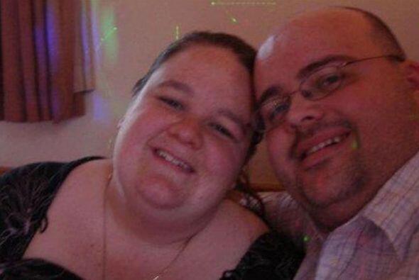 Katie y Roy Marks de Buckinghamshire, Inglaterra vivían de comida...