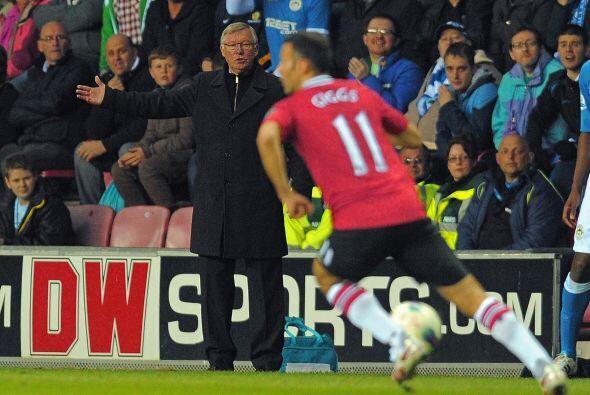 Si Alex Ferguson se daba cuenta de que su equipo no estaba dando su mejo...