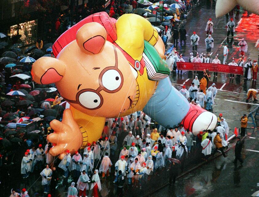 Estos son los personajes que estaban de moda durante el famoso desfile a...