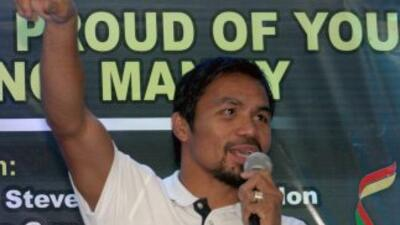 Manny Pacquiao busca rival.