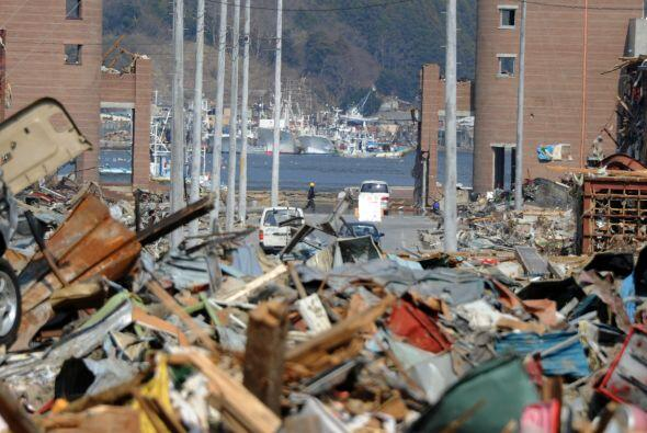Una de las prefecturas más afectadas por el terremoto y posterior tsunam...