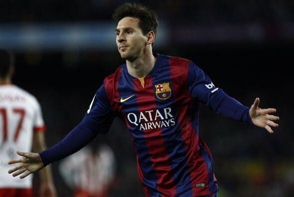 Remate letal de Leo que rompió el cero y festejó así su gol 32 en la act...