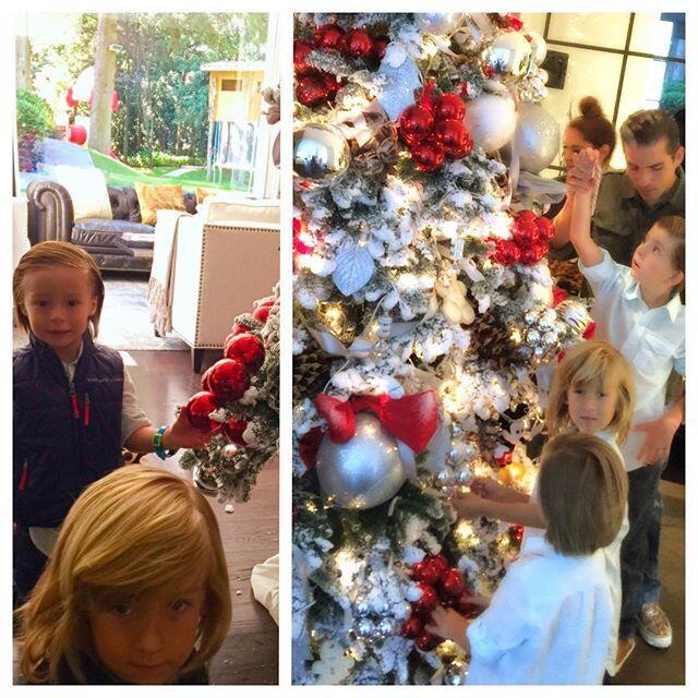 Navidad en las casas de los famosos