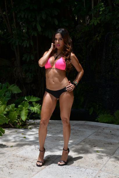 Laura Silva quiere ser la ganadora de 'Miss Verano 2014' y está esperand...