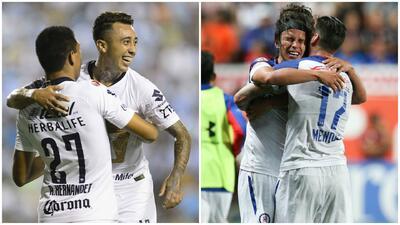 El balance de la J4 de la Liga: Pumas y Cruz Azul, invictos y en las primeras posiciones de la tabla