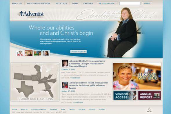 ADVENTIST HEALTH SYSTEM Cantidad de puestos disponibles: 2,500+. Ejemplo...
